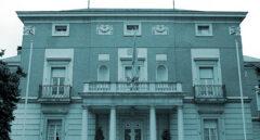 Fachada del Palacio de La Moncloa.