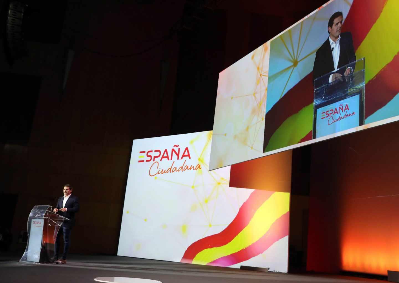 Albert Rivera presenta la plataforma España Ciudadana.