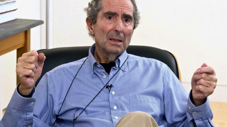 El escritor estadounidense Philip Roth.