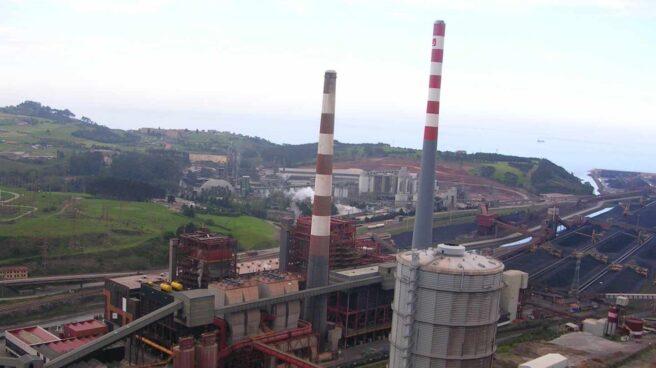 Térmica de Aboño, responsable de emisiones de CO2.