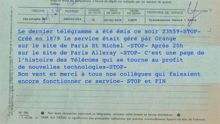 España mantiene el envío de telegramas frente a la decisión de Francia de suprimirlo