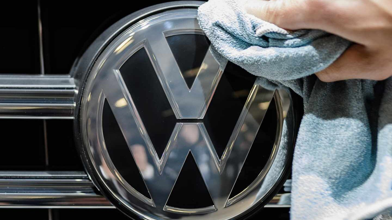 Logo oficial de Volkswagen.