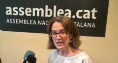 La presidenta de la ANC, Elisenda Paluzie, este sábado.