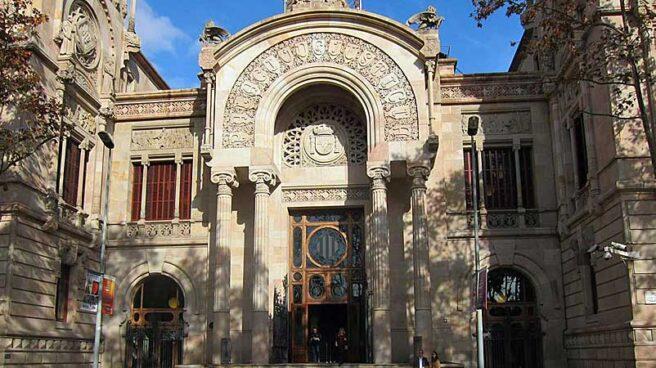 Fachada de la Audiencia Provincial de Barcelona.