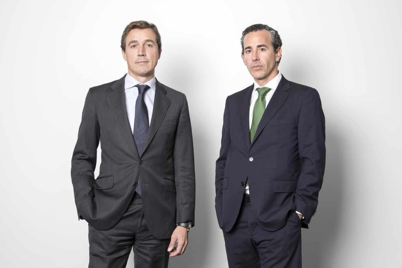 Fernando Bernad y Álvaro Guzmán de Lázaro, gestores de azValor.