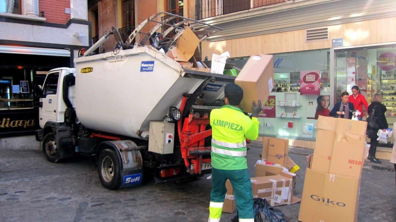 Servicio de recogida de basura.