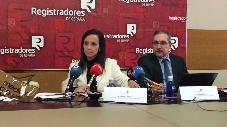 La socialista Beatriz Corredor.