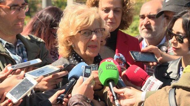 Manuela Carmena presenta la programación de las Fiestas de San Isidro 2018.