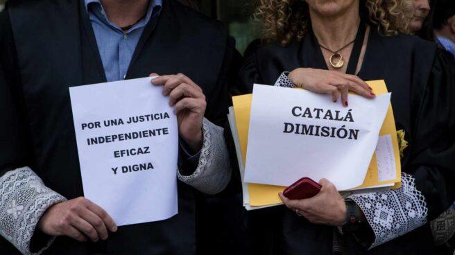 Dos jueces piden la dimisión de Rafael Catalá.