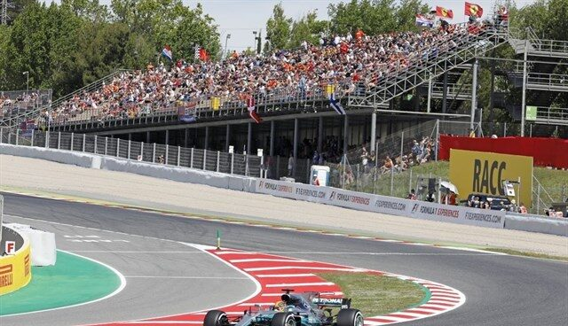 Gran Premio de España de Fórmula 1 en el circuito de Montmeló, en Cataluña.