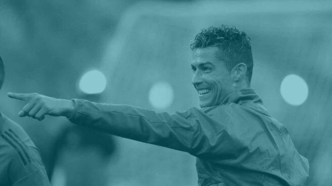 Cristiano Ronaldo, en Kiev.