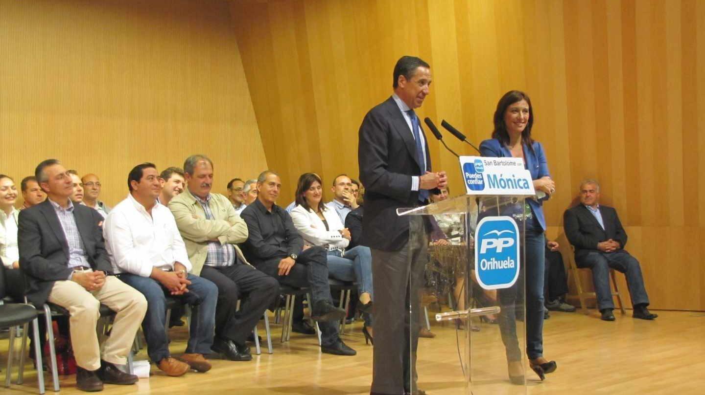 El ex presidente de la Generalitat valenciana y ex ministro Eduardo Zaplana.