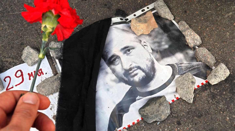 El periodista ruso dado por muerto Arkady Babchenko.
