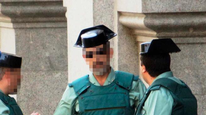 Miembros de la Guardia Civil en Madrid.