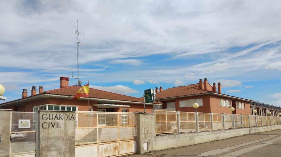 Casa cuartel de la Guardia Civil en Cabezón de Pisuerga