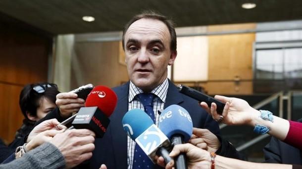 El presidente de Unión del Pueblo Navarro (UPN), José Javier Esparza.