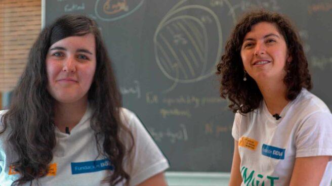 Las matemáticas Ángela Capel y Patricia Contreras en el ICMAT