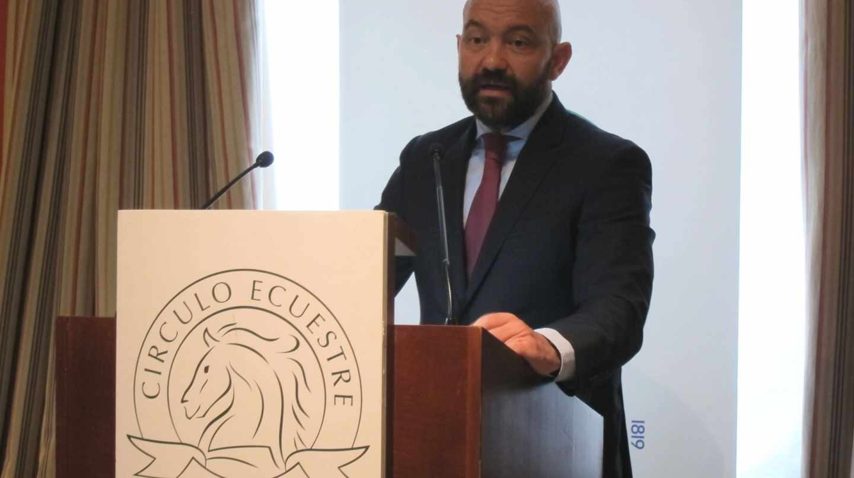 El presidente de Aena, Jaime García-Legaz.