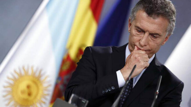 El presidente argentino Mario Macri