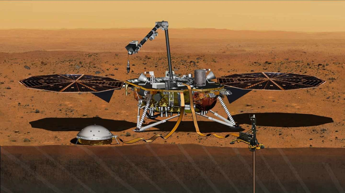 Misión Insight, cazadora de martemotos