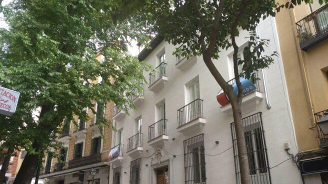 El edificio de Corredera Baja de San Pablo 20 ya está completamente reformado y podrá ser un alojamiento hotelero.