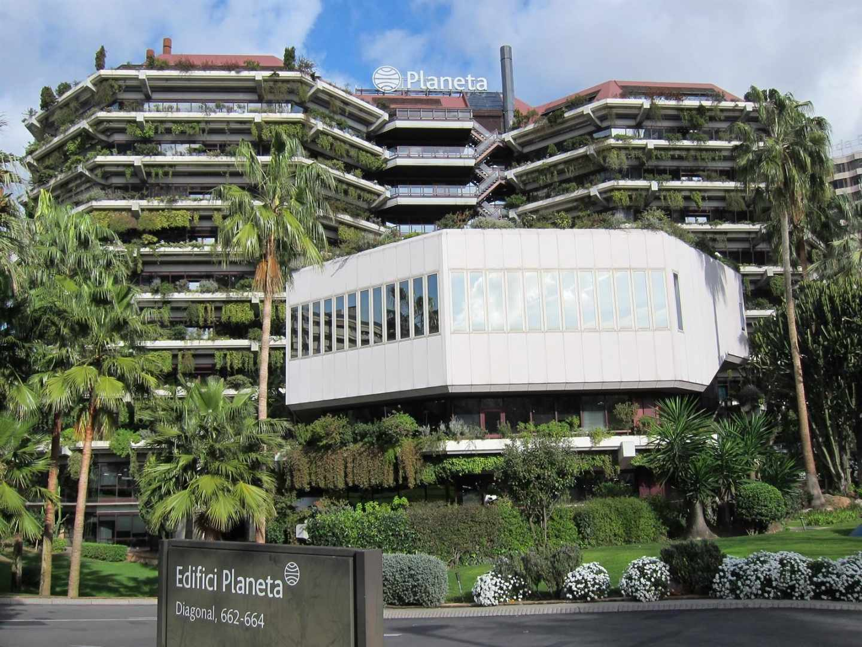 Sede del Grupo Planeta, en Barcelona.