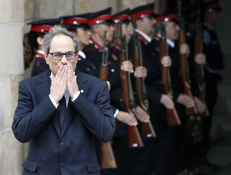 El nuevo presidente de la Generalitat, Quim Torra.