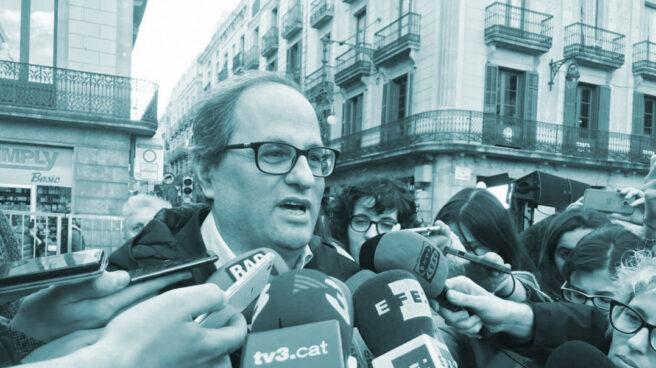 Quim Torra, ex presidente de Omnium Cultural y candidato a la Generalitat elegido por Puigdemont.