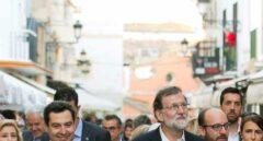 El presidente del Gobierno, Mariano Rajoy, en la visita a Cádiz, en la que ha valorado las palabras de Quim Torra.