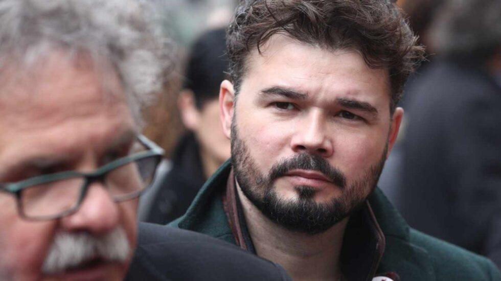 Joan Tardà y Gabriel Rufián, diputados de ERC.