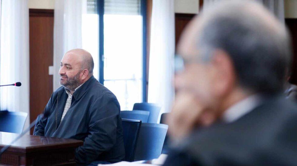 Francisco Trujillo, durante su declaración como testigo en el juicio de los ERE.