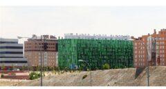 Viviendas de Protección Oficial en el Ensanche de Vallecas, al sur de Madrid.