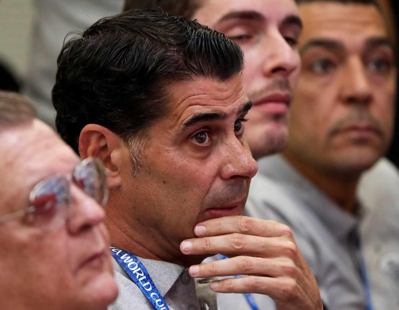 Fernando Hierro releva a Lopetegui como seleccionador nacional durante el Mundial