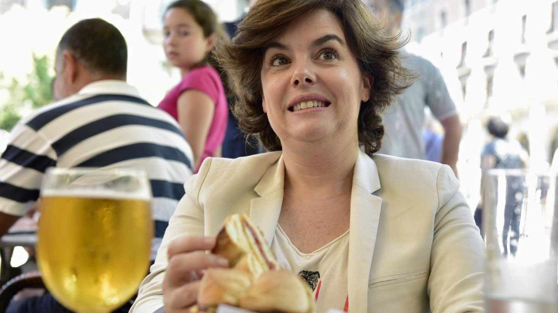 La ex vicepresidenta del Gobierno, Soraya Sáenz de Santamaría.