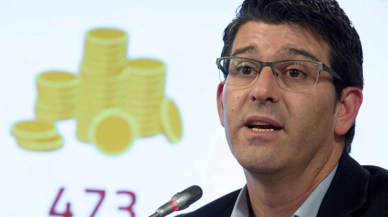 El presidente de la Diputación de Valencia y alcalde de Ontinyent, Jorge Rodríguez.