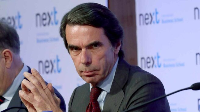 El ex presidente del Gobierno José María Aznar.