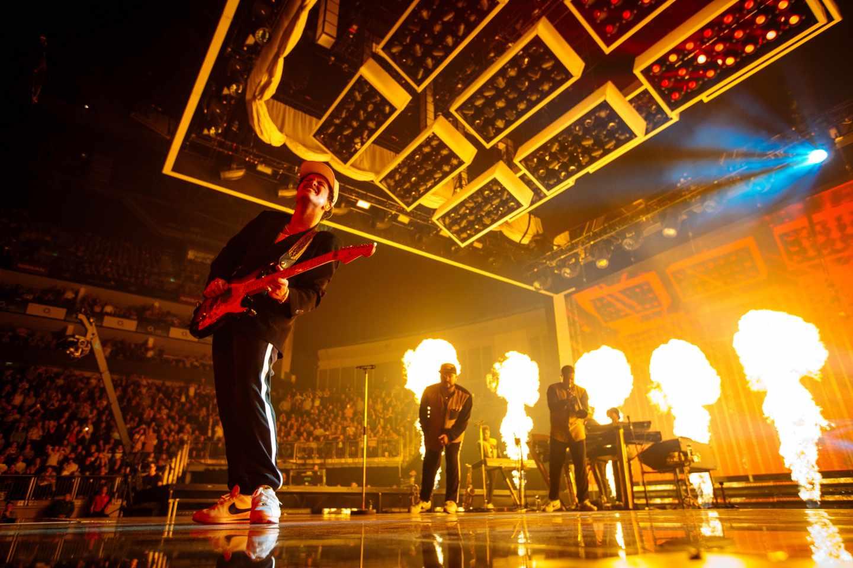 Concierto en Londres de Bruno Mars