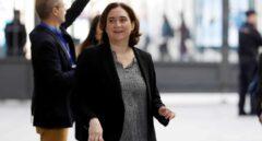 Ada Colau, alcaldesa de Barcelona, llega al Congreso.