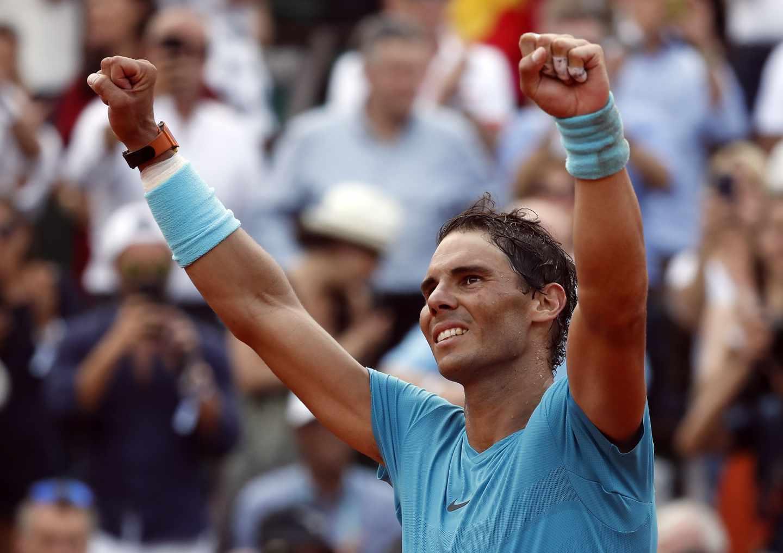 Rafa Nadal, tras ganar su undécimo título de Roland Garros.