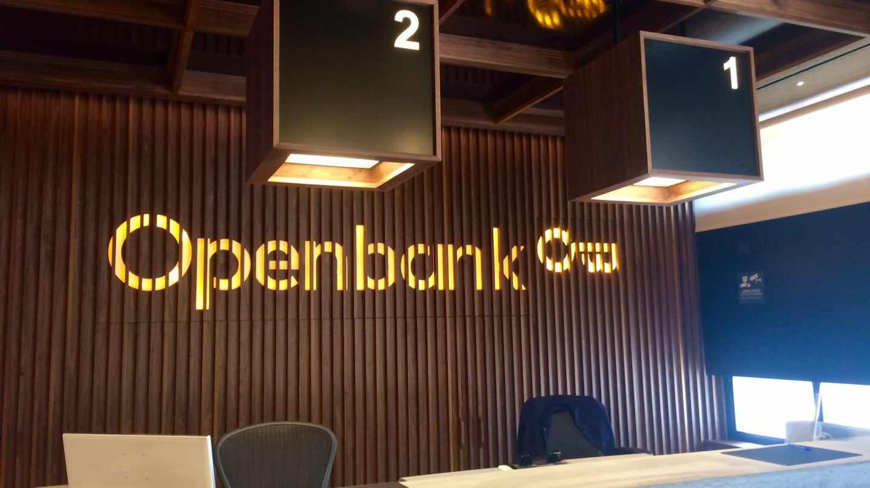 Openbank es la filial digital del grupo Santander.