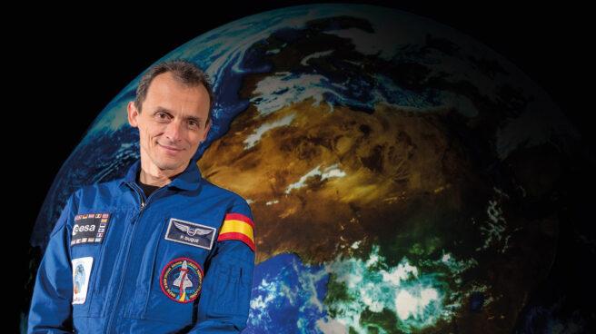 Pedro Duque, como Astronauta de la Agencia Espacial Europea (ESA) en una imagen de enero de 2018