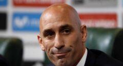 Luis Rubiales, presidente de la Federación de Fútbol.