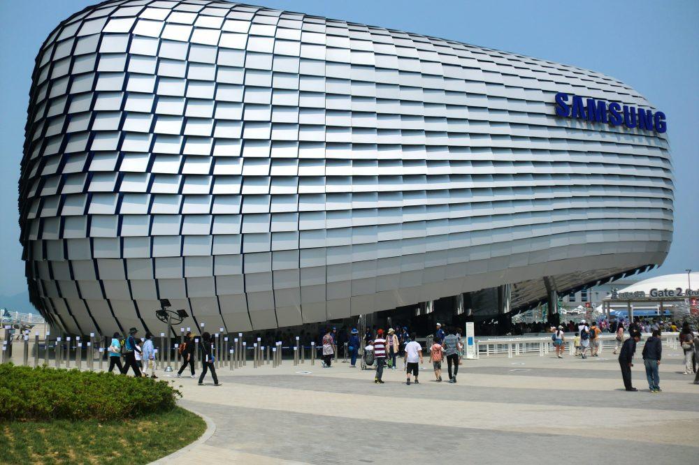 Samsung posee cientos de oficinas en Estados Unidos, Europa y Asia