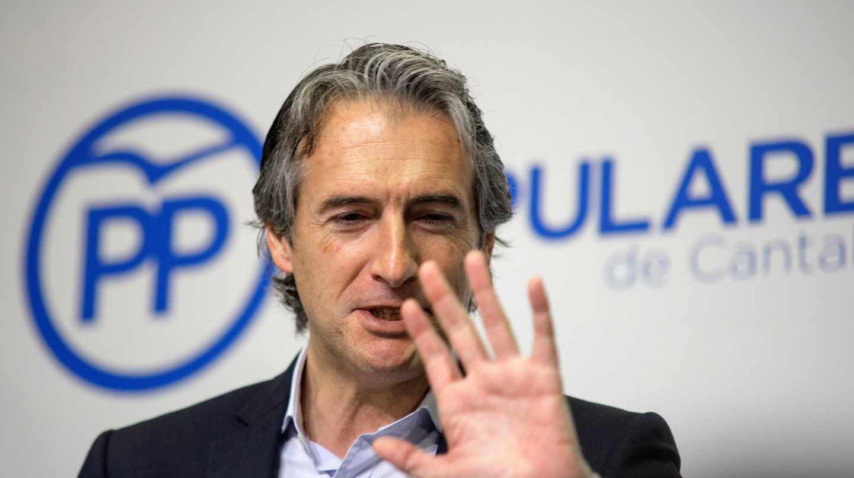 El ex ministro de Fomento Íñigo de la Serna.