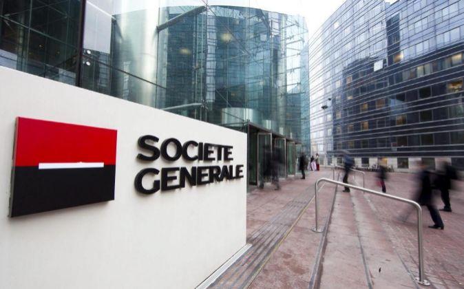 Sede de Société Générale en el distrito parisino de La Defense.