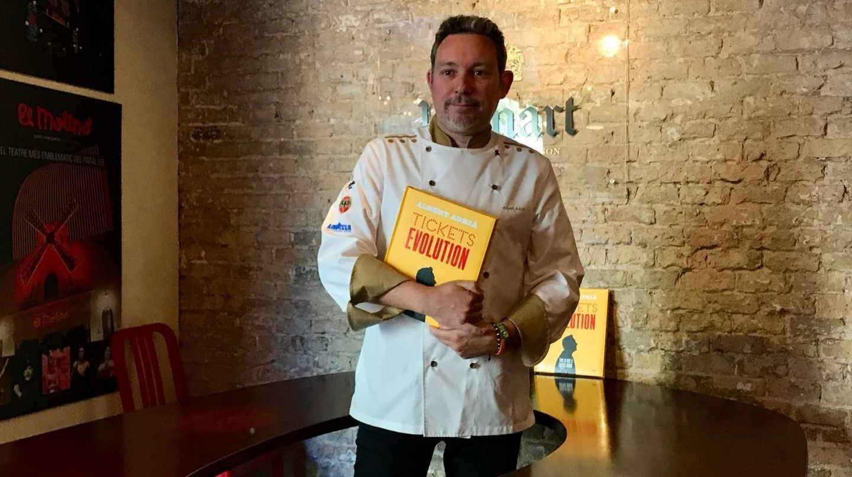 Albert Adriá, Premio Nacional de Gastronomía 2017.