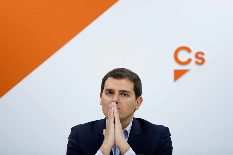 El líder de Ciudadanos, Albert Rivera.
