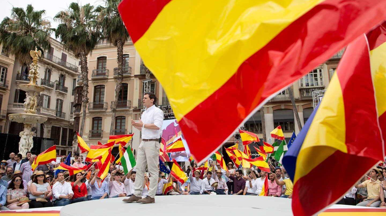 El presidente de Ciudadanos, Albert Rivera, participa en el segundo acto de la Plataforma 'España Ciudadana'.