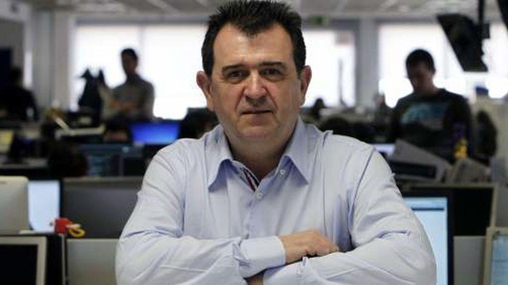 El periodista Arsenio Escolar.