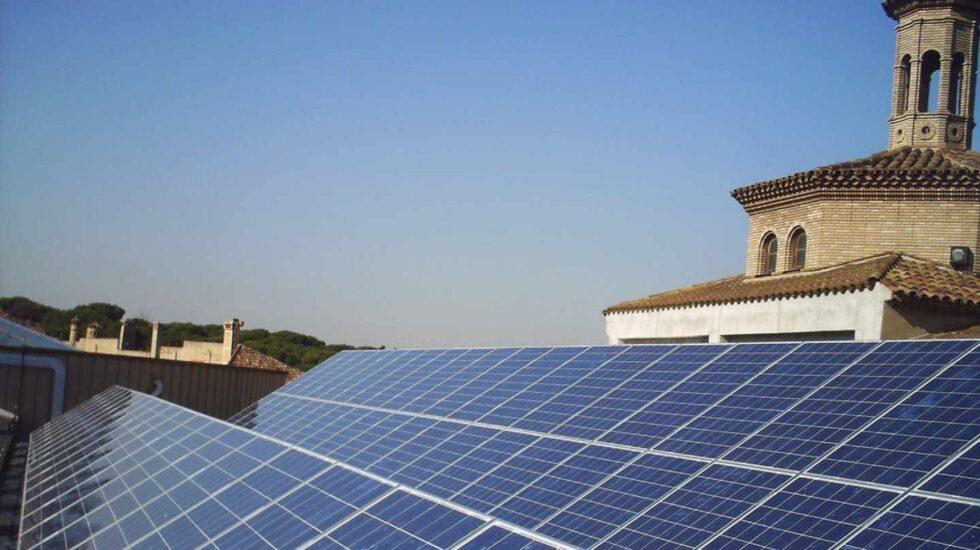 Una instalación fotovoltaica de autoconsumo.